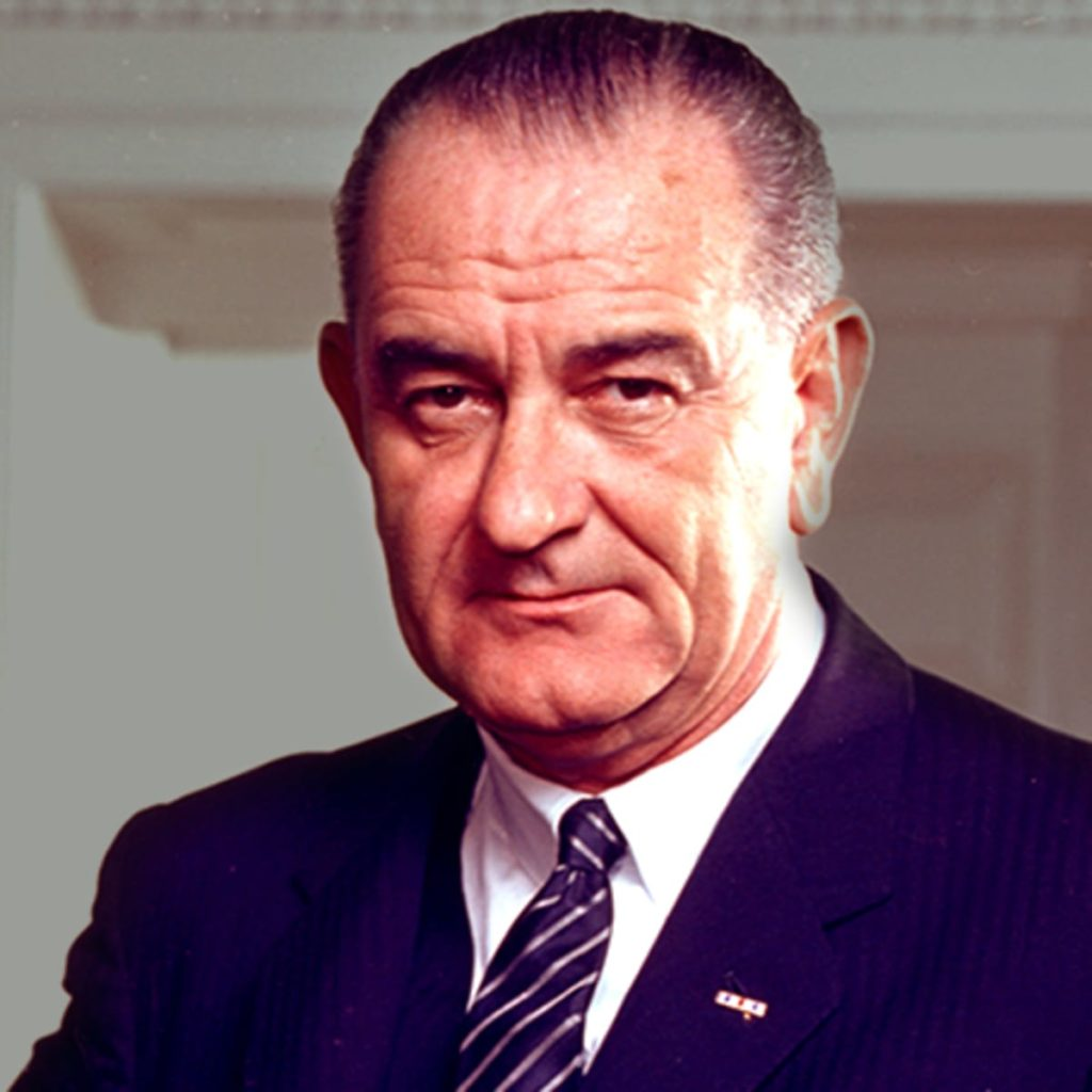 Water Resources Research Act signed into law by President Lyndon B. Johnson